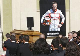 France Bianchi Funeral