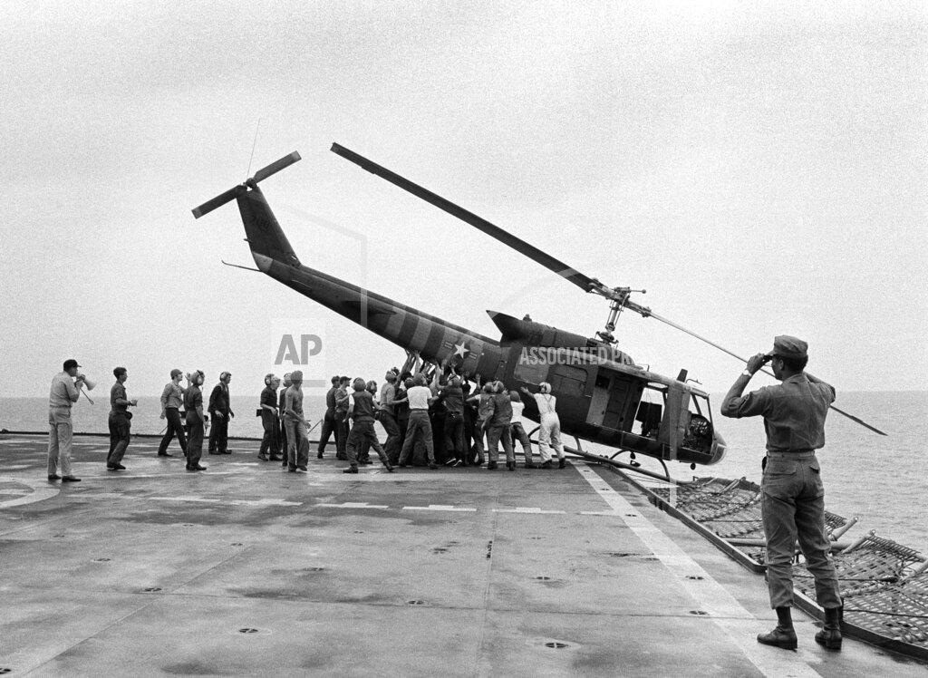 Watchf AP I   VNM APHS Vietnam War US Evacuation