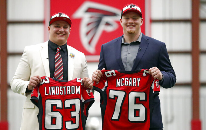 QB Ryan says thanks after Falcons bolster line in NFL draft