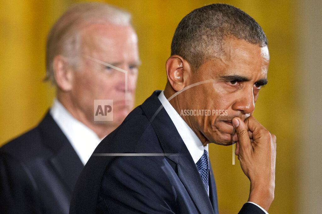 APTOPIX Obama Guns