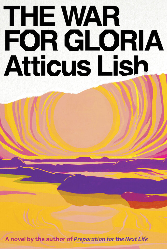 """This cover image released by Knopf shows """"The War for Gloria"""" by Atticus Lish. (Knopf via AP)"""