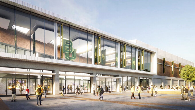 Baylor moving forward with plans for new basketball facility
