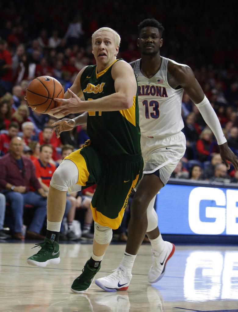 North Dakota St Arizona Basketball