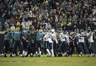 Seahawks Jaguars Football
