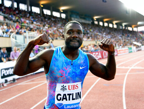 Gatlin Still Going Strong Athletics