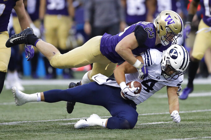 Burr-Kirven an unassuming leader for No. 16 Washington