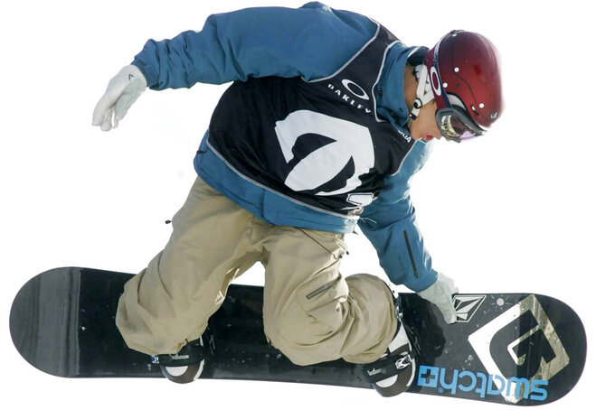 Snowboard icon: Sports are great with or without Olympics