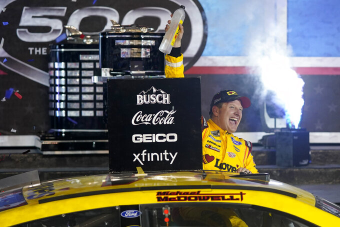 McDowell hopes Daytona 500 win brings more success to team