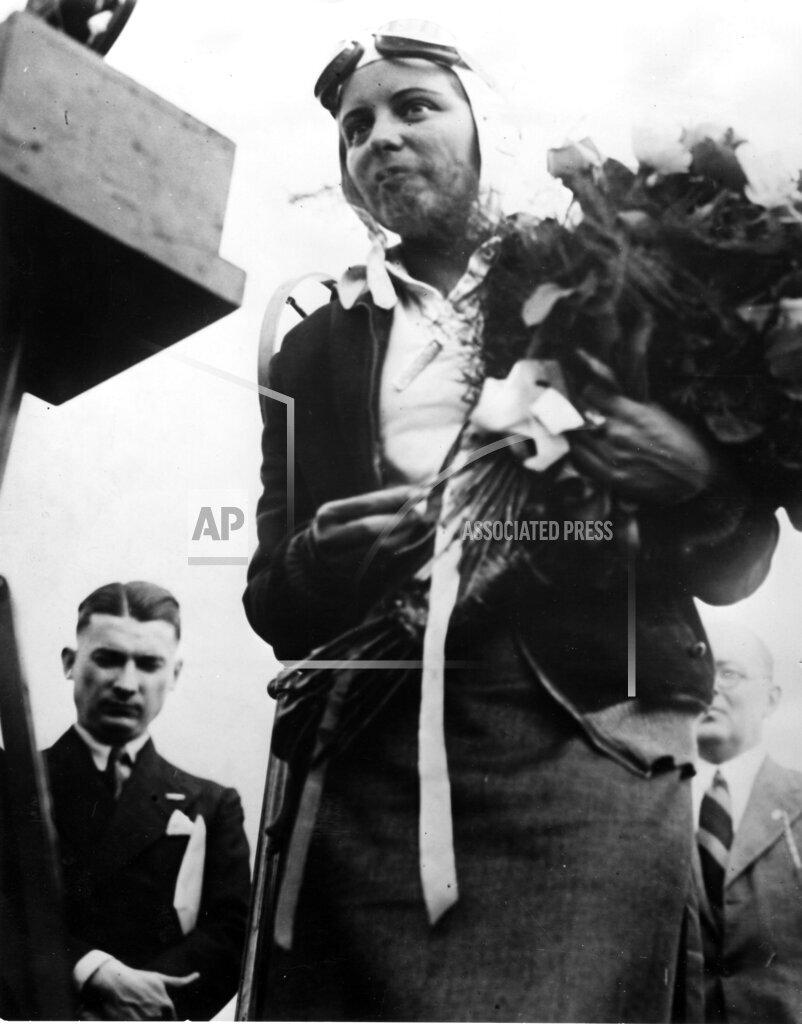 AP I DEU GERMANY WOMAN PILOT BEINHORN
