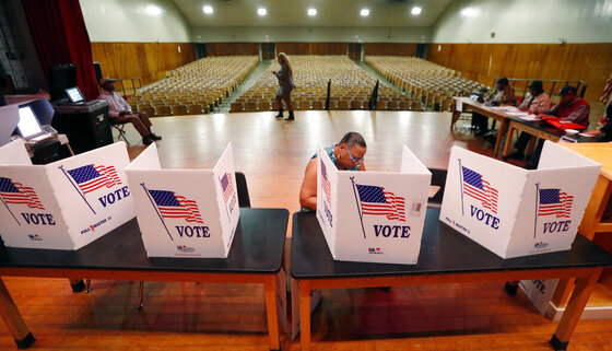 2016 Election Mississippi Voting