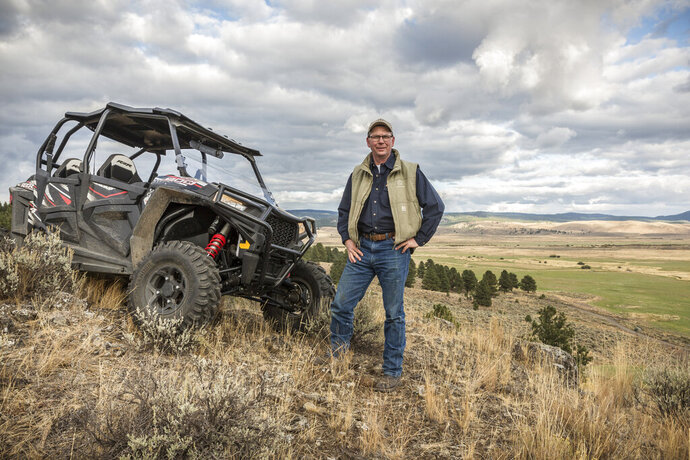 - In this Sept. 21, 2017 photo provided by Silvies Valley Ranch, Colby Marshall, vice president of Silvies Valley Ranch poses for a picture in Burns, Ore. Silvies Valley Ranch owns five bulls that were found dead with sex organs and tongues removed. The deaths of the bulls recall mutilations of livestock across the West and Midwest in the 1970s that struck fear in rural areas, and caused people to carry guns. Marshall believes a cult is behind the bull deaths. (David Zaitz/Silvies Valley Ranch via AP)