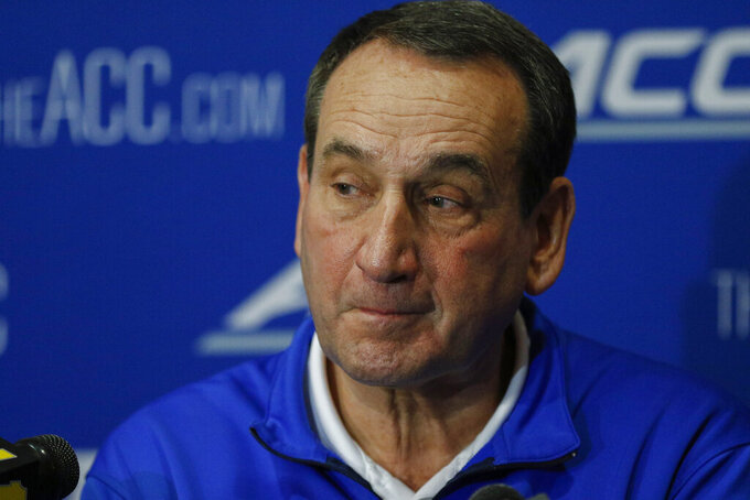 Krzyzewski says California law a needed conversation starter