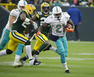 Dolphins Gore Football