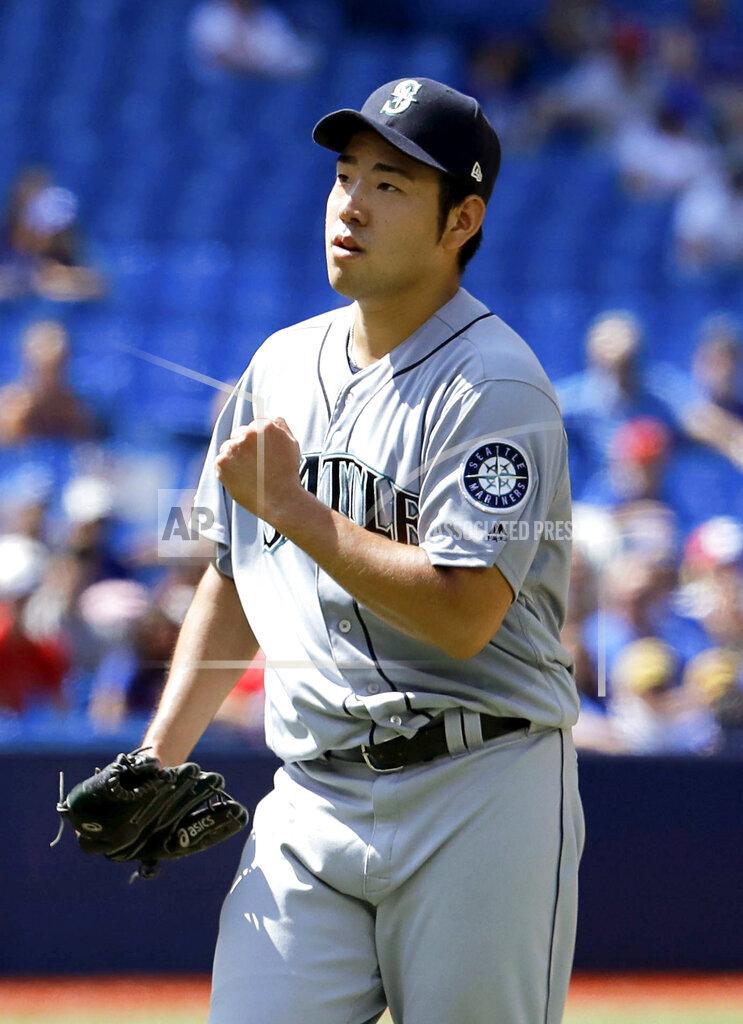 Baseball: Mariners v Blue Jays