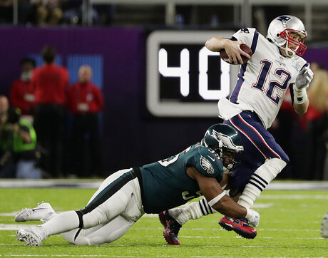 Tom Brady, Brandon Graham