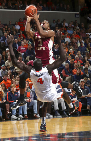 Florida State Virginia Basketball