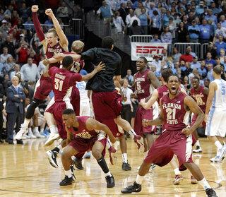 APTOPIX ACC Florida St NCarolina Basketball