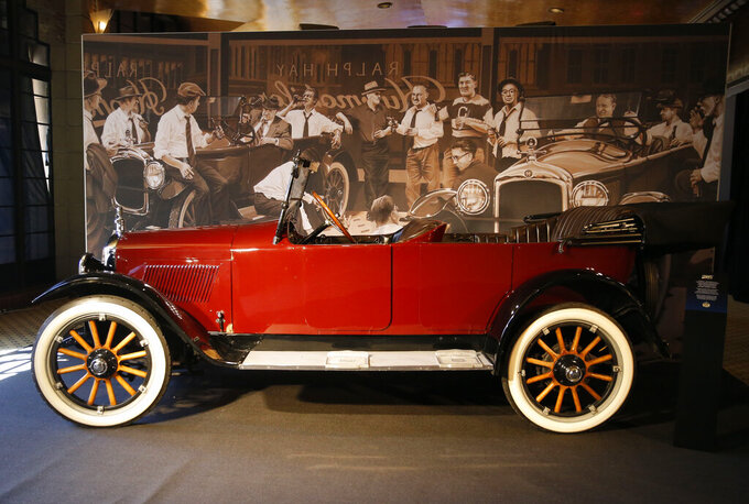 The humble Hupmobile lends support in start of NFL