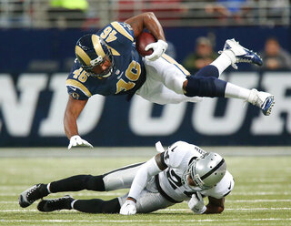 St. Louis Rams v Oakland Raiders