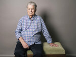 """FILE - Musician Brian Wilson poses for a portrait in Los Angeles on June 2, 2015. Wilson's story is at the heart of a new documentary,  """"Brian Wilson: Long Promised Road,"""" that premieres at New York's Tribeca Film Festival this week.  (Photo by Casey Curry/Invision/AP, File)"""