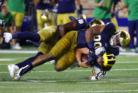 Michigan Notre Dame Football