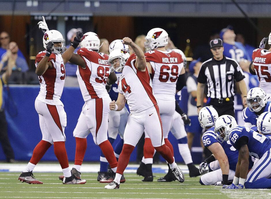 APTOPIX Cardinals Colts Football