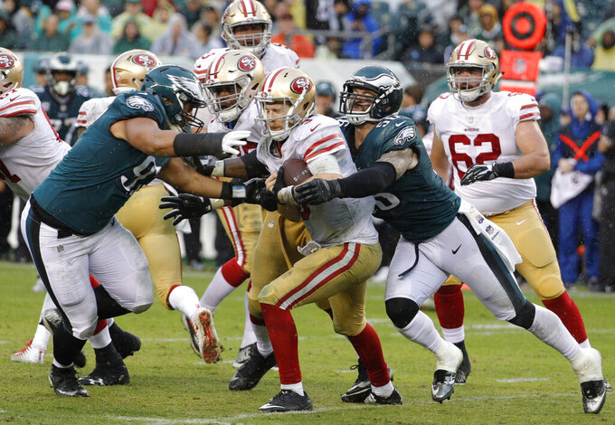 San Francisco 49ers at Philadelphia Eagles 10/29/2017