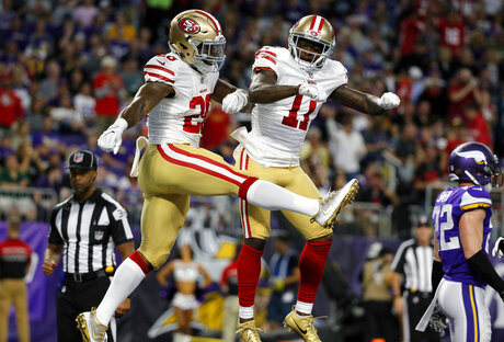 Carlos Hyde, Marquise Goodwin