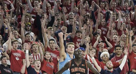 Gonzaga Idaho St Basketball