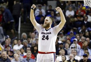 NCAA Xavier Gonzaga Basketball