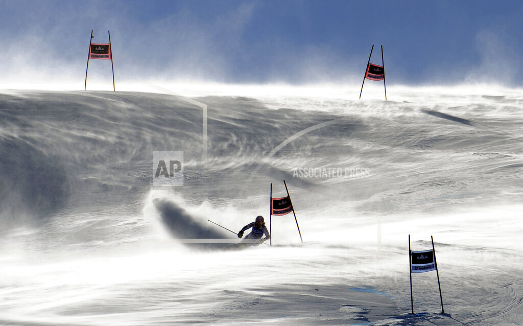 APTOPIX Andorra Alpine Skiing World Cup
