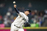 Seattle Mariners starter Felix Hernandez delivers a pitch during the fourth inning of the team's baseball game against the Chicago White Sox, Saturday, Sept. 14, 2019, in Seattle. (AP Photo/Stephen Brashear)