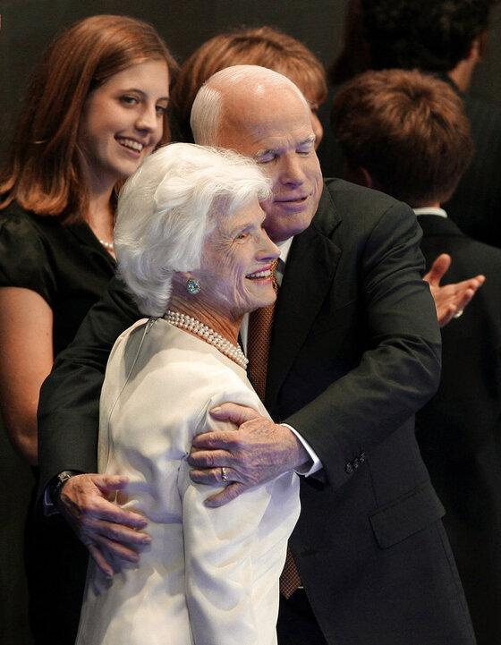 John McCain, Roberta McCain