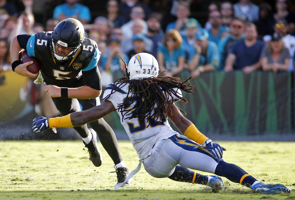Blake Bortles, Tre Boston