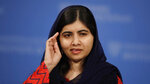 2014 Nobel Laureate Malala Yousafzai addresses a gathering at the Kennedy School's Institute of Politics at Harvard University in Cambridge, Mass., Thursday, Dec. 6, 2018. (AP Photo/Charles Krupa)