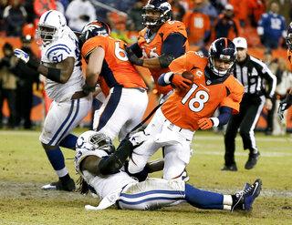 Colts Broncos Football