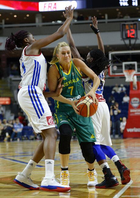 Australia France Basketball