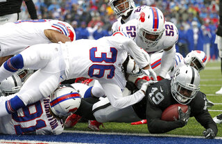 APTOPIX Raiders Bills Football