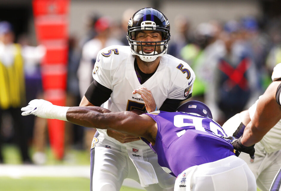 Danielle Hunter, Joe Flacco