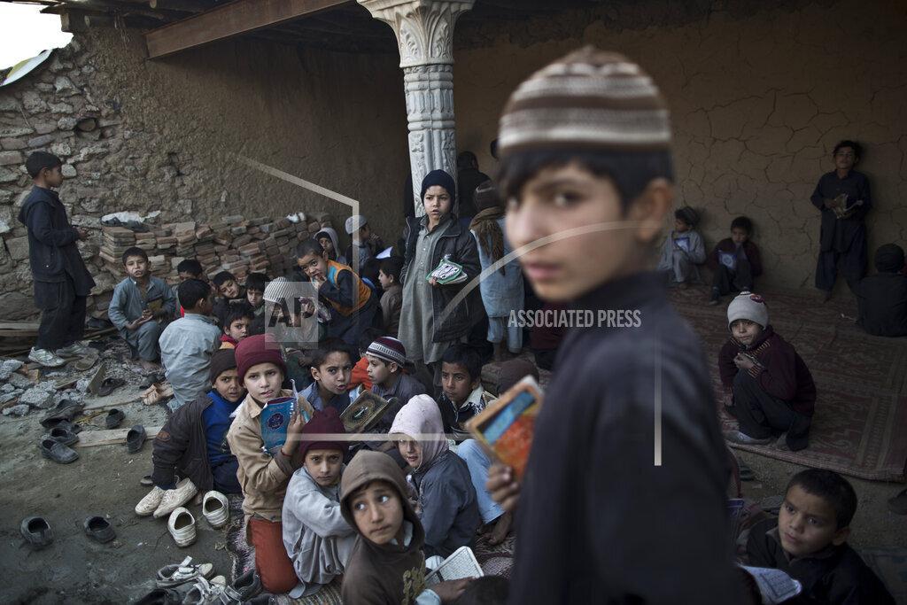 APTOPIX Pakistan Religious Schools Photo Essay
