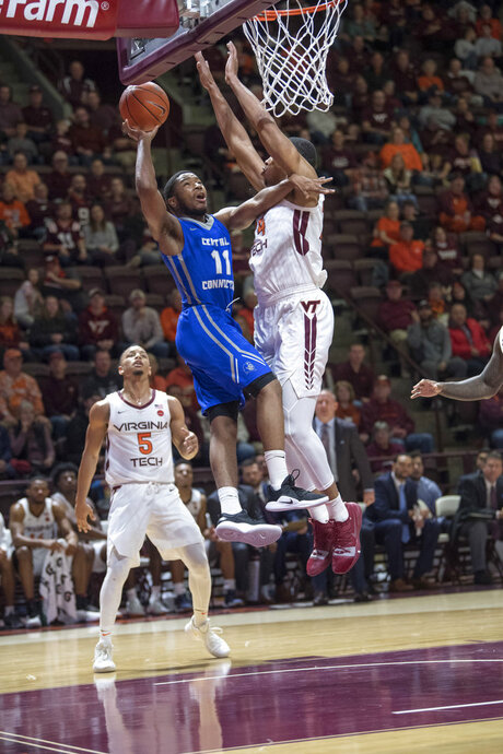 Central Connecticut State Virginia Tech Basketball