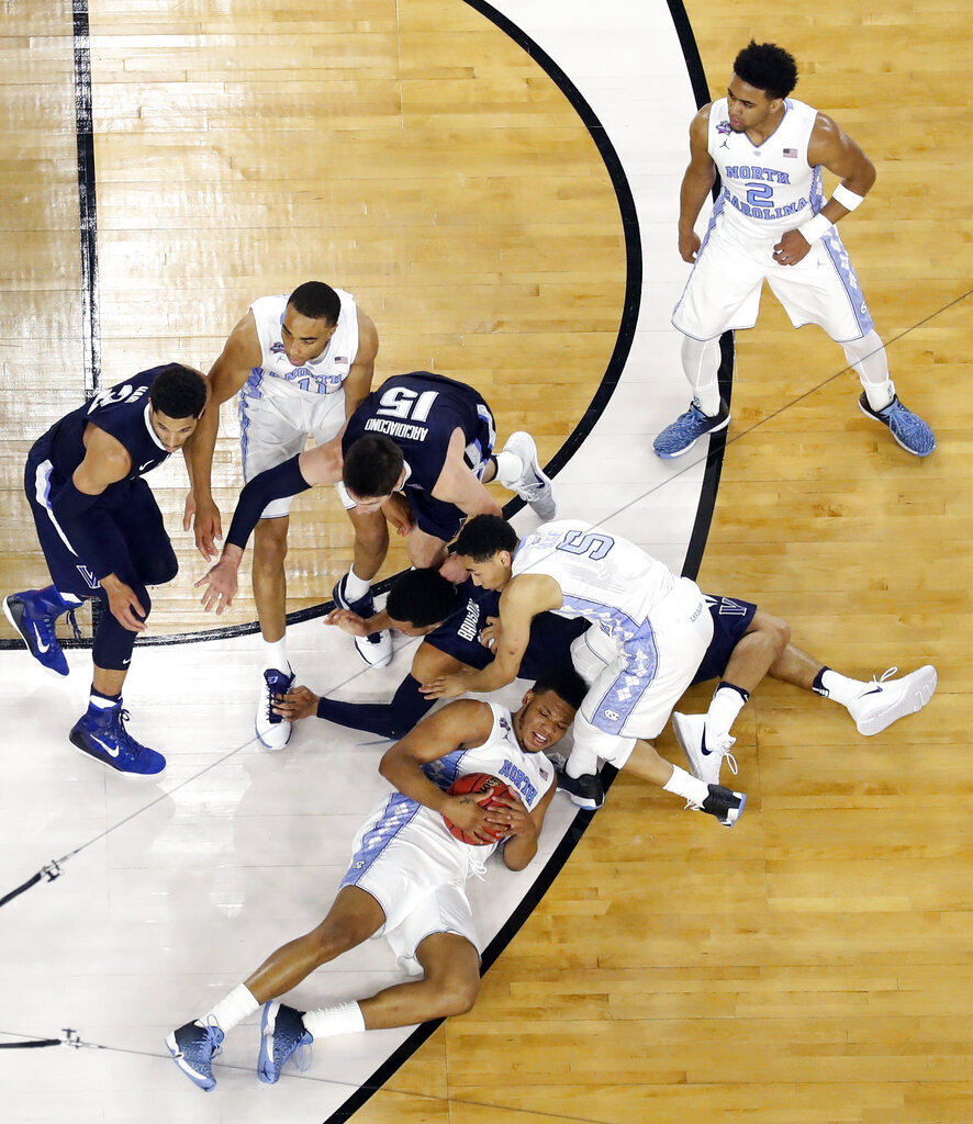 APTOPIX NCAA Villanova North Carolina Final Four Basketball