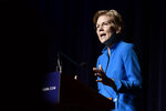 Elizabeth Warren, United States senator from Massachusetts and one of the many Democrats running for president in 2020, speaks at the