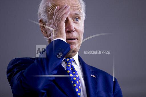 APTOPIX Election 2020 Joe Biden