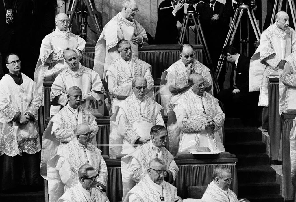 Watchf Associated Press International News   Italy Vatican APHS176775 Vatican II Cardinals 1963