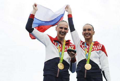 Rio Olympics Synchronized Swimming