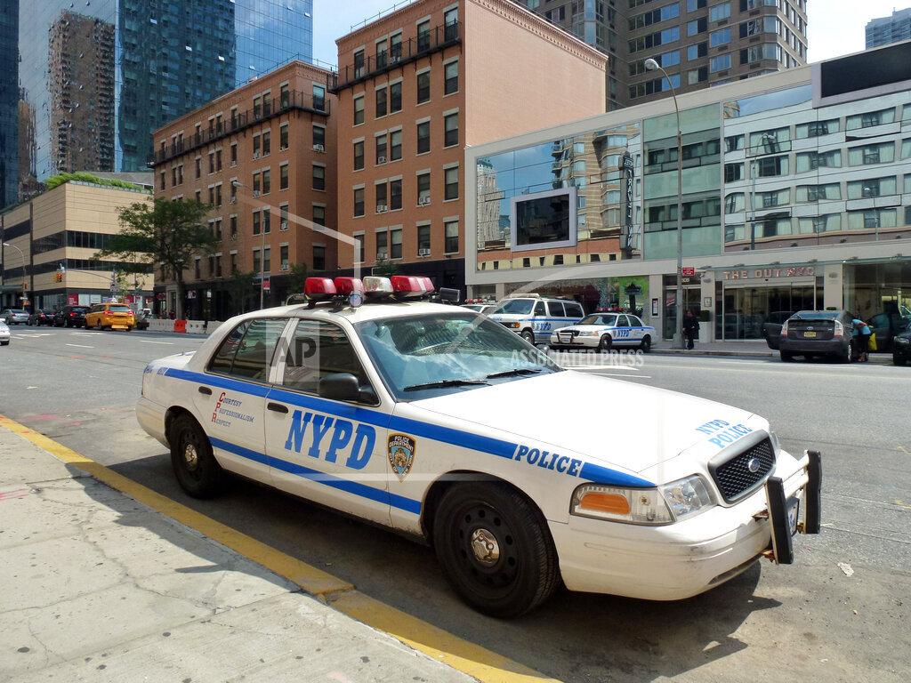 New York City : NYPD police car