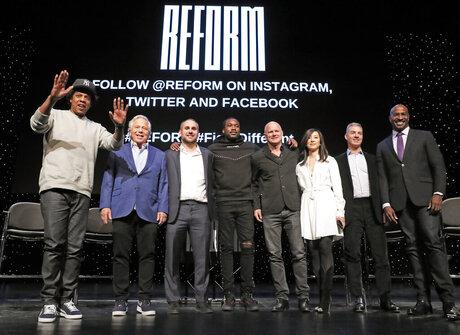 Shawn Jay-Z Carter, Robert Kraft, Michael Rubin, Meek Mill, Michael Novogratz, Clara Wu Tsai, Daniel Loeb, Van Jones