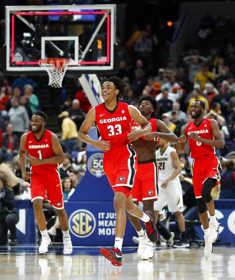 SEC Gerogia Missouri Basketball