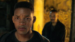 This image released by Paramount Pictures shows Will Smith, portraying Junior, foreground, and Henry Brogan in the Ang Lee film
